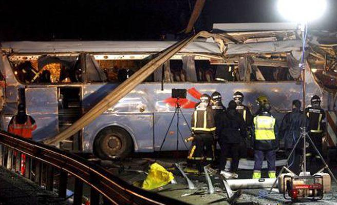 El accidente de autobús en Tornadizos (Ávila) es el peor de los últimos cinco años