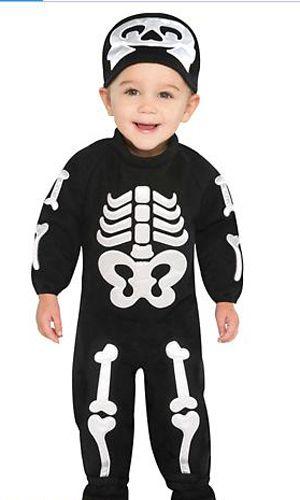 el beb que lleve un disfraz de pequeo esqueleto ser sin duda el ms terrorfico de la noche