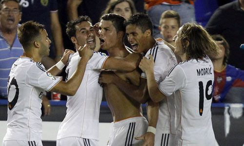 Liga BBVA: Levante - Real Madrid (2-3): Cristiano Ronaldo remata la remontada épica junto a Morata y Jesé