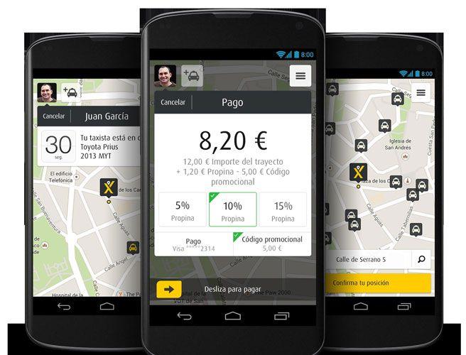 Las aplicaciones para pedir un taxi en el smartphone 'retiran' a la tradicional emisora o radiotaxi