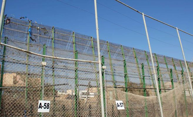 Nuevo asalto a la valla de Melilla