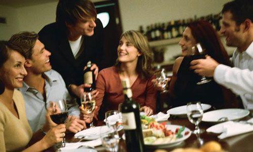 Cenas de empresa de navidad prohibido ligar y beber de - Menu cena amigos en casa ...
