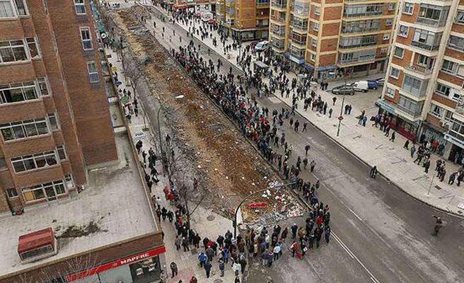 Izquierda Unida proyectó su propio 'Gamonal' para las elecciones municipales de 2011
