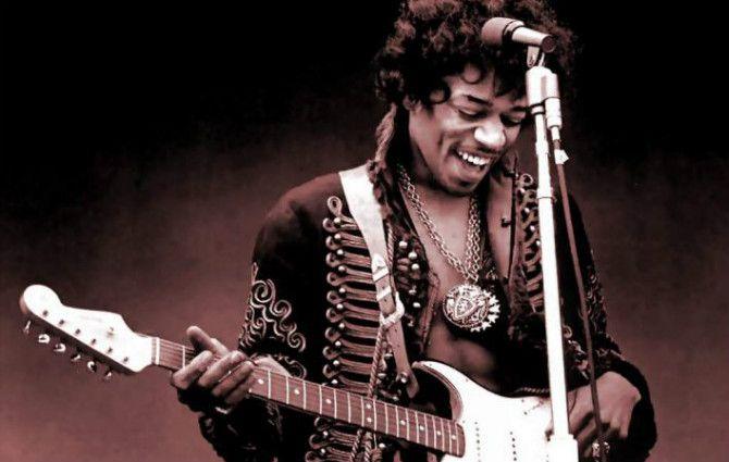 El mejor guitarrista de la historia del rock, sale de acá