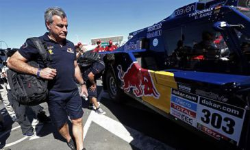 Rally Dakar 2014: Carlos Sainz abandona por un accidente