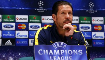 Champions League: Simeone no ve la eliminatoria cerrada ante el Milan