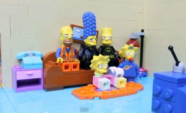 Vídeo: La intro de los Simpsons hecha de Lego