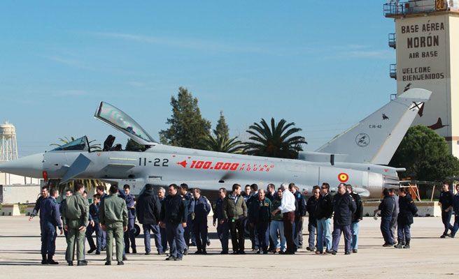 Se estrella un avi n eurofighter en mor n de la frontera qu es - Fotos de moron de la frontera ...