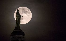 As� fue la �ltima superluna de 2014