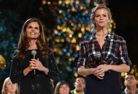 Maria Shriver y Brooklyn Decker
