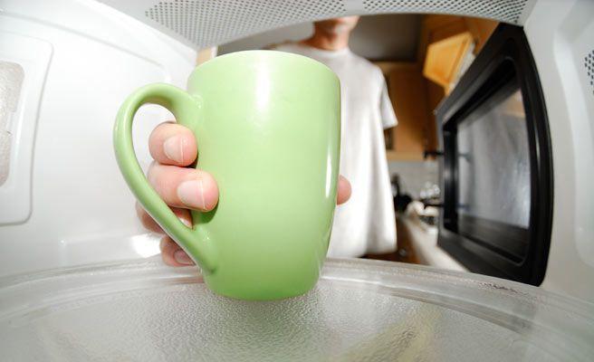 Motivos para no usar el microondas