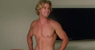 El falso 'paquete' de Chris Hemsworth en Vacation