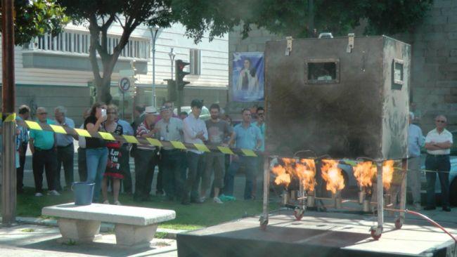 Récord magia extrema: Los 18 minutos en un horno a más de 200 grados del español Victor Cerro