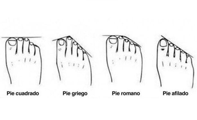 4 formas del pie que definen tu personalidad