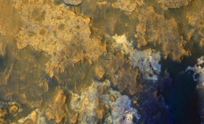 El Curiosity halla pruebas de la existencia de un continente como los de la tierra en Marte