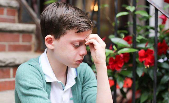 """La foto viral del niño gay: """"Soy homosexual y tengo miedo"""""""