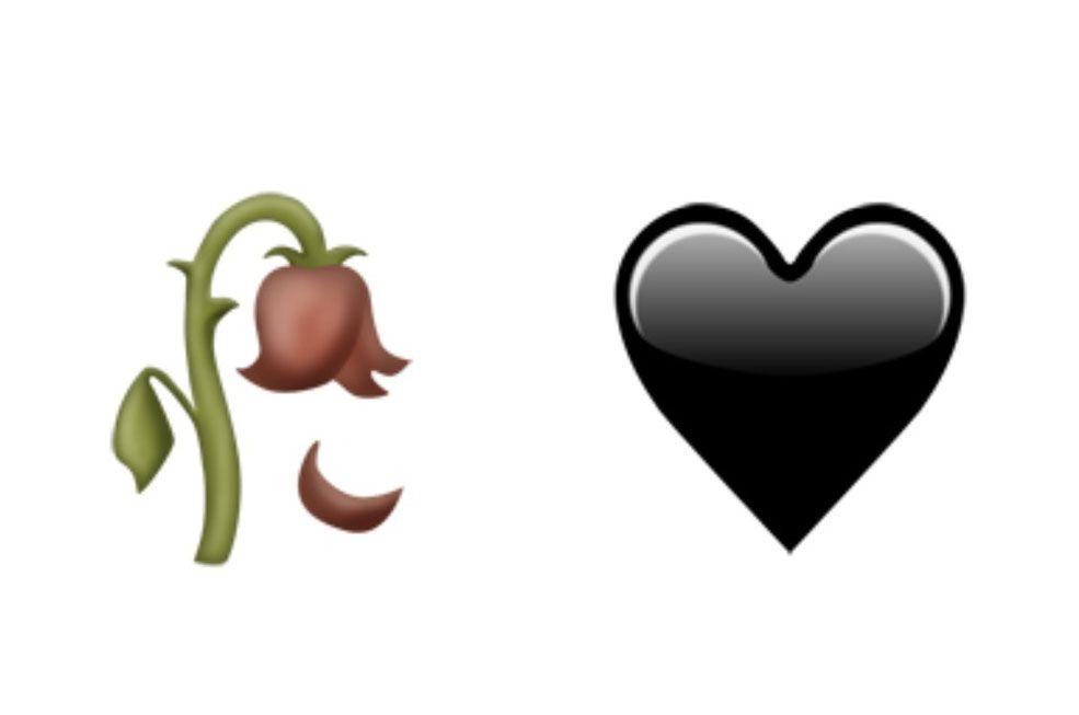 ¿Un corazón negro?