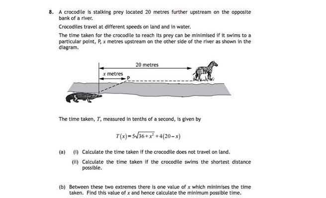 El enigma del cocodrilo y la cebra que volvió locos a los alumnos británicos
