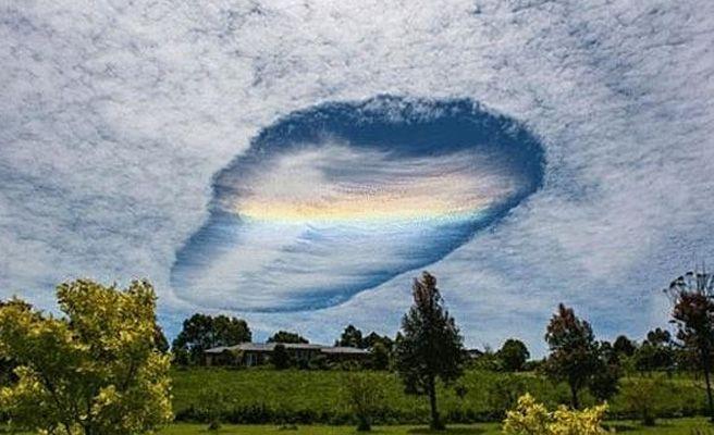 El extraño agujero que apareció en el cielo de Australia