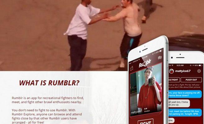 Rumblr, la aplicación con la que pegarte con desconocidos