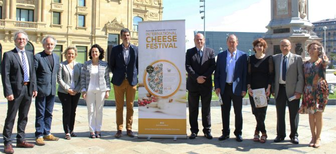 La asociación Artzai Gazta, consigue que Donosti sea sede del International Cheese Festival