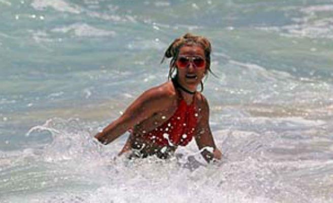 Britney Spears, a punto de morir ahogada en Hawaii