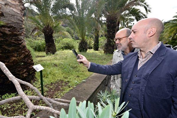 El cabildo apuesta por la divulgaci n digital con for El jardin canario