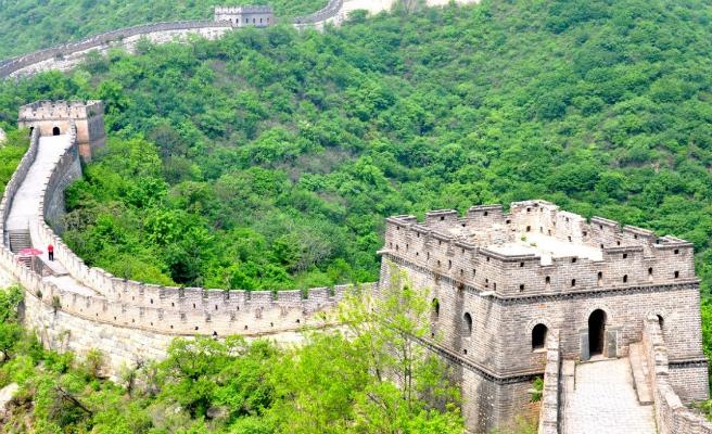 Imagen de la muralla china foto google maps qu es for Q es la muralla china
