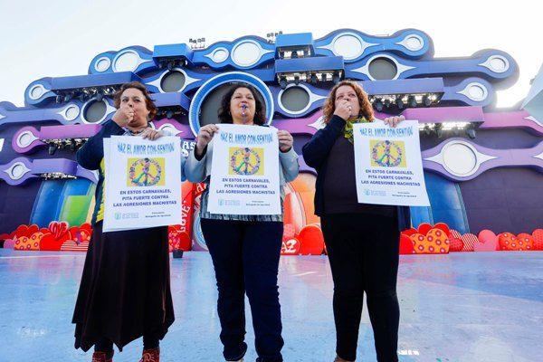 La Concejalía de Igualdad pone en marcha una campaña de prevención de agresiones sexistas en las fiestas  del Carnaval.