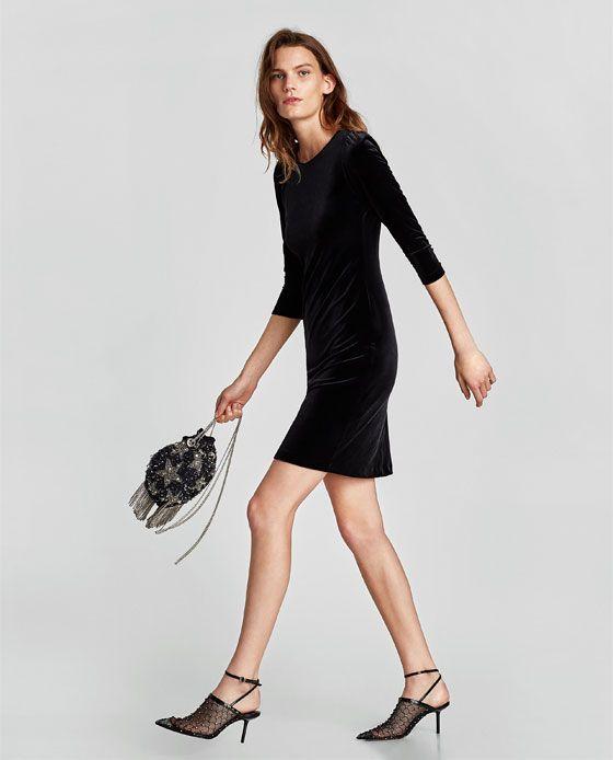 Vestidos negros de zara