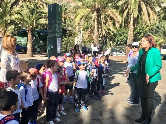 Los menores celebran el d a de la infancia con tamar n for El jardin canario