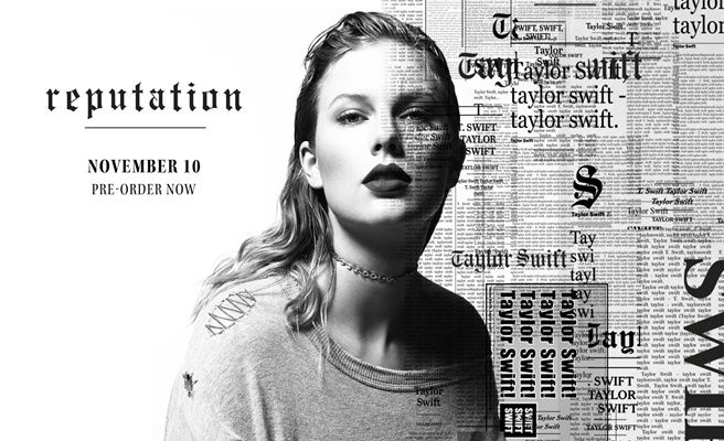 Así será 'Reputation', el nuevo disco de Taylor Swift: No streaming y colaboraciones estelares