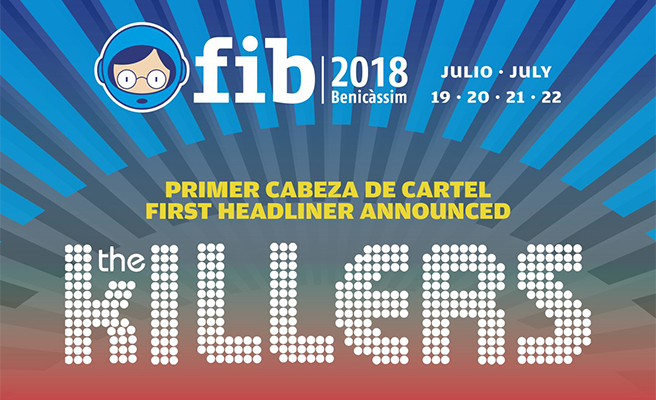 The Killers, primer cabeza de cartel del FIB 2018