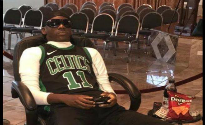 El macabro velatorio de un fan de los Celtics