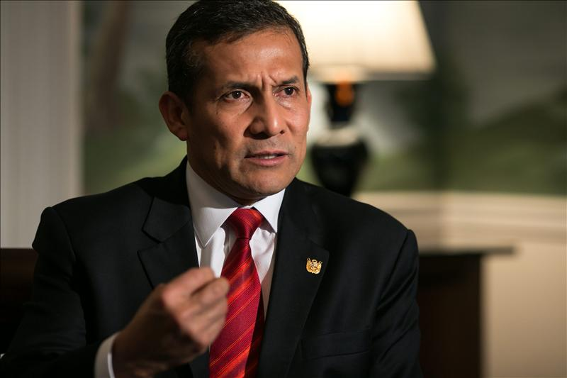 Humala destaca la solidez de la economía peruana tras nota favorable de S and P