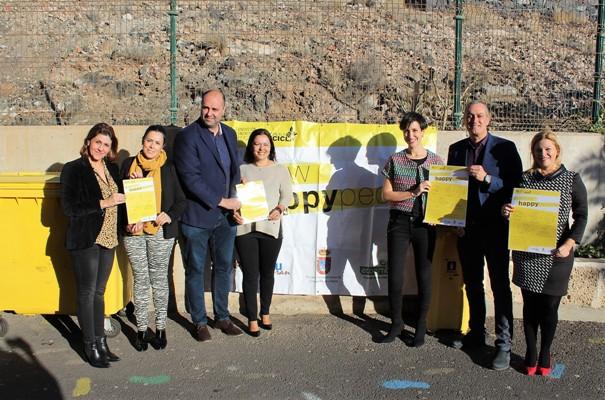 El Ayuntamiento impulsa el reciclaje entre 4.000 estudiantes con la segunda edición del programa 'Yellow Happy People'
