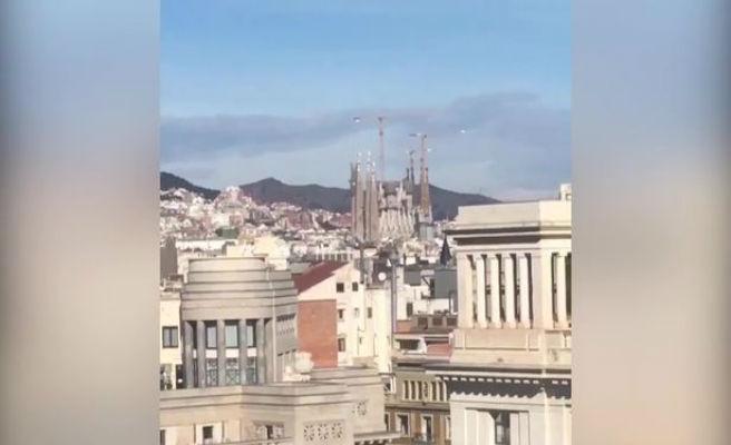 Dos turistas confunden la Catedral de Barcelona con la Sagrada Familia. Habían preparado su visita a conciencia