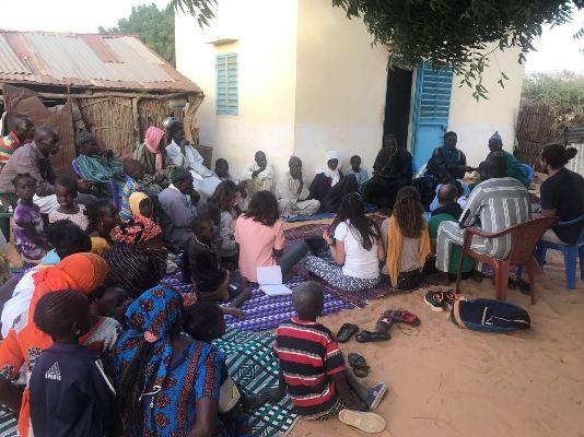 Seis profesionales becados por el Cabildo promueven la creación de un centro de educación infantil en Senegal