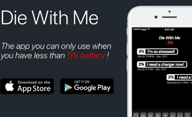 Aquesta és l'aplicació a la qual només podràs accedir amb un 5% de bateria o menys