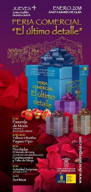 """La Feria Comercial """"El  Último Detalle"""" de Guía ofrece este jueves juguetes, gastronomía, moda y complementos"""