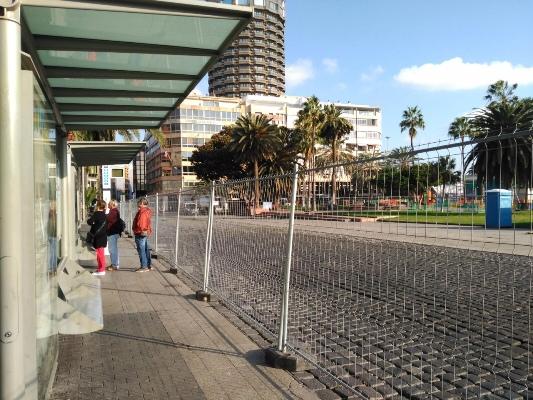 Guaguas habilita paradas provisionales desde el lunes 8 de enero para cubrir el servicio del Parque Santa Catalina