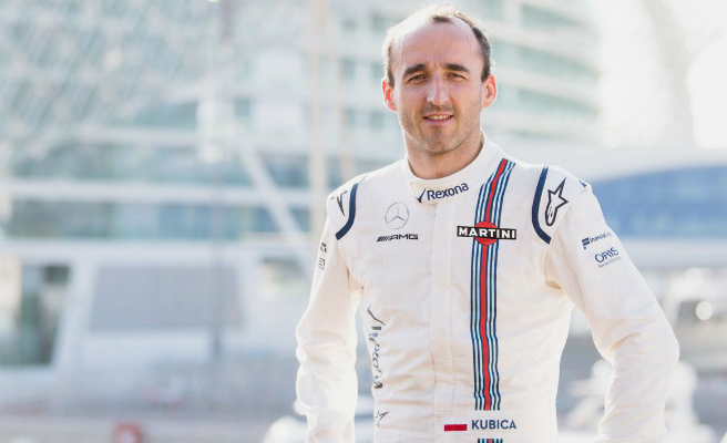 Kubica vuelve a competir: será el piloto reserva y desarrollo de Williams