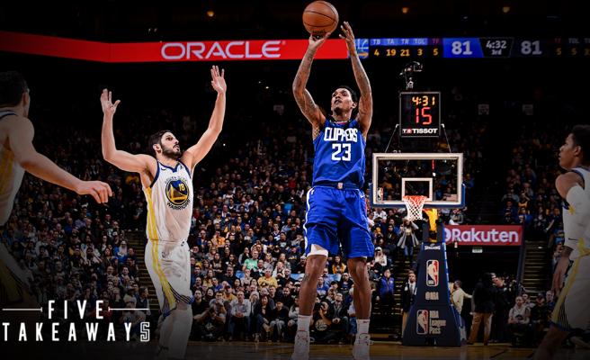 NBA   La crónica: Lou Williams deja sin fiesta de los 20.000 puntos a Durant