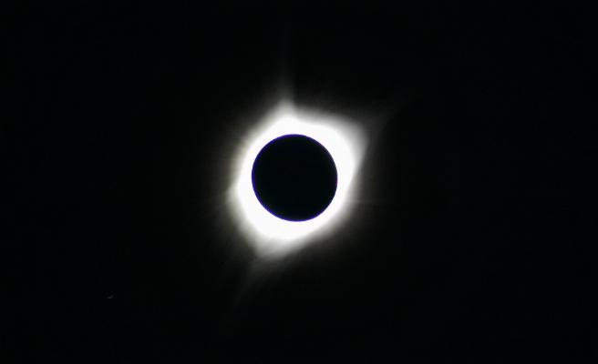 La Luna se despide de enero con un eclipse total