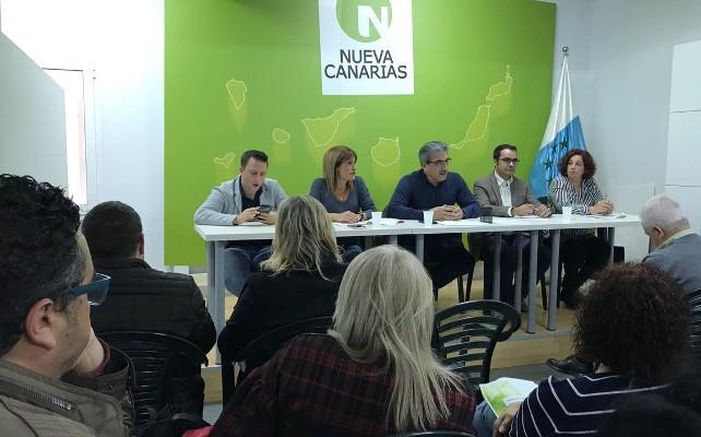 NC inicia con Coalición Canaria una ronda de contactos para avanzar en los asuntos canarios en Madrid