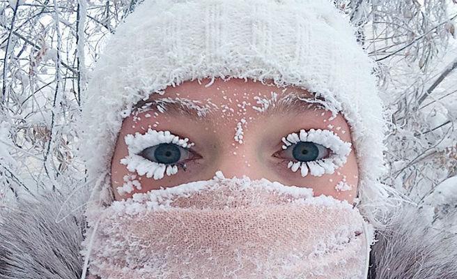 Pestanyes congelades i termòmetres a menys 62 graus, coneix el lloc habitable més fred de la Terra