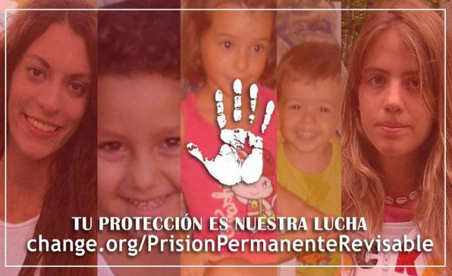 Famílies de menors assassinats demanen que no es derogui la presó permanent revisable