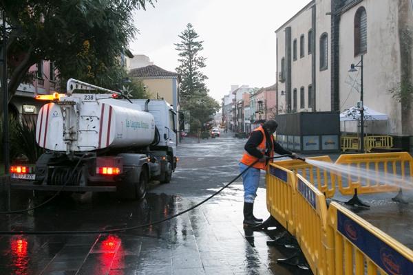 El Ayuntamiento de La Laguna concluye el asfaltado de tres vías en Valle de Guerra