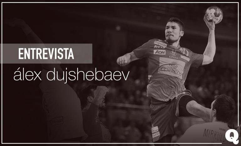 "Álex Dujshebaev: ""Ojalá muchos niños empiecen a jugar al balonmano"""