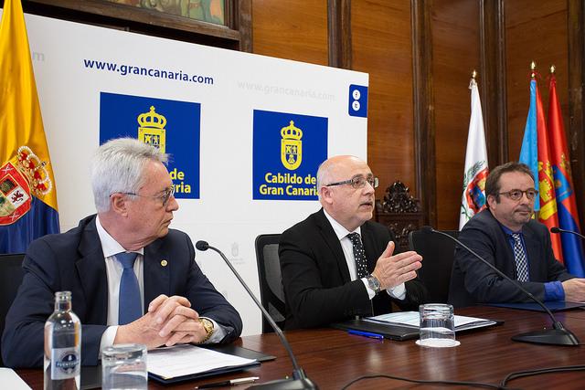 Cabildo y Cámara desarrollarán acciones formativas por valor de 745.000 euros de fondos europeose insulares